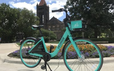 VeoRide becomes first bike share on U of I campus